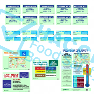 food safety signs pack